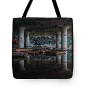 Reflections Of Decay Tote Bag