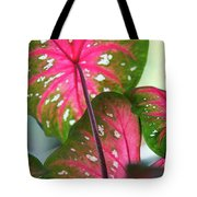 Reflections On The Calming Of Pink Tote Bag