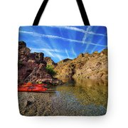 Reflections On The Colorado River Tote Bag