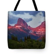 Reliving The Tetons Tote Bag