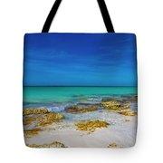 Remote Beach Paradise Turks And Caicos Tote Bag