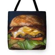 Renaissance Burger  Tote Bag