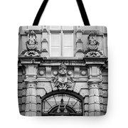 Rene Cassin School B W Tote Bag