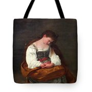 Repentant Mary Magdalene Tote Bag