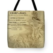 Reproduction Of A Poster Advertising An International Exhibition Of Commercial And Industrial Produ Tote Bag