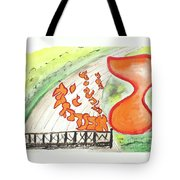 Resh In A Race Ab36 Tote Bag by Hebrewletters Sl