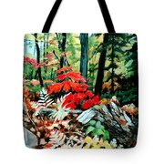 Resilient Maple Tote Bag