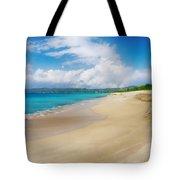 Retreating Tide Tote Bag
