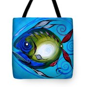 Return Fish Tote Bag