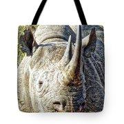Rhino Zen Tote Bag