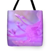 Rhododendron Macro Tote Bag