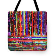 Rhythm And Rules Tote Bag