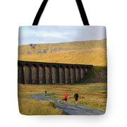 Ribblehead Viaduct In Late Autumn North Yorkshire Tote Bag