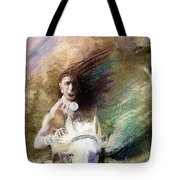 Rides With Wind Tote Bag