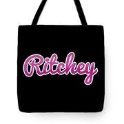 Ritchey #ritchey Tote Bag
