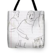 Rite Of Spring Lined 6b Tote Bag