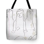 Rite Of Spring Lined 7b Tote Bag