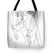 Rite Of Spring Lined 9b Tote Bag