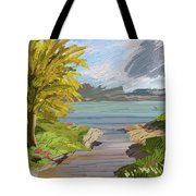 River Ode Tote Bag