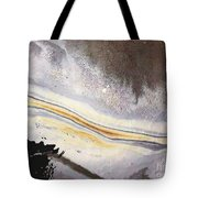 River Of Gold Tote Bag
