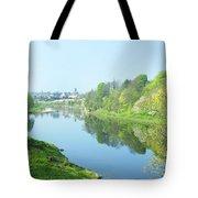 river tweed at Coldstream Tote Bag