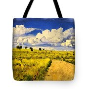 Road To Nowwhere Tote Bag