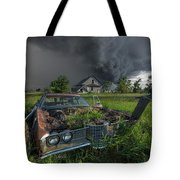 Road's End  Tote Bag