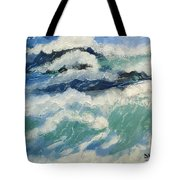 Roaring Ocean Tote Bag