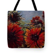 Robin's Banquet Tote Bag by J Reynolds Dail
