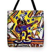 Rock And Roll Hall Dreams  Tote Bag