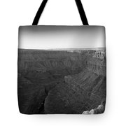 Rock Formations On The Edge Tote Bag