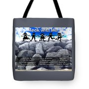 Rock With Me Tote Bag