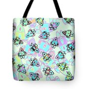 Rocketeering Repetition Tote Bag