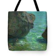 Rocks At Cap Negret Sp Tote Bag