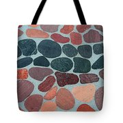 Rocks Sawed And Polished Tote Bag
