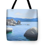 Rocky Cove On Lake Tahoe Tote Bag