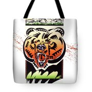 Rocky Mountain Grizzly Tote Bag