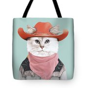 Rodeo Cat Tote Bag by Animal Crew