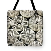 Rolled Rugs Background Tote Bag