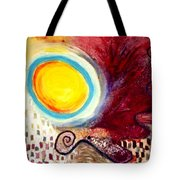 Rolling Ball Tote Bag