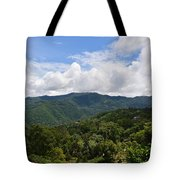 Rolling Hills, Open Sky Tote Bag