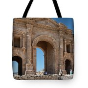 Roman Arched Entry Tote Bag by Mae Wertz