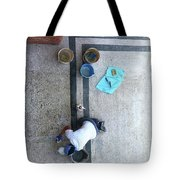 Roman Bath Tote Bag