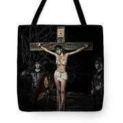 Roman Scene Painting Tote Bag