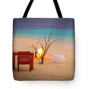 Romantic Beach Tote Bag