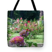 Rome Rose Garden Tote Bag