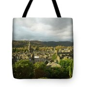 Rooftops Of Ambleside In Early Morning In The Lake District Tote Bag