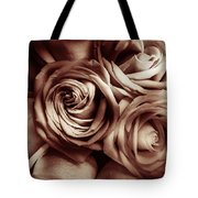 Rose Carmine Tote Bag