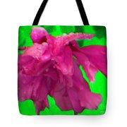 Rose Of Sharon Rain Drops Tote Bag