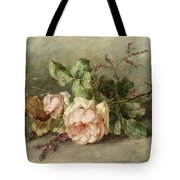 Roses, 19th Century Tote Bag